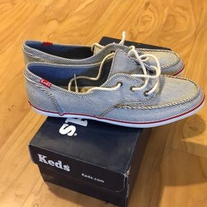 Keds boat shoes